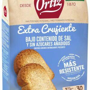 pan tostado sin sal y sin azucar