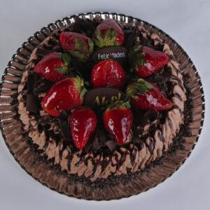 tarta bizcocho de chocolate