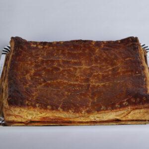 Empanada de bacon queso