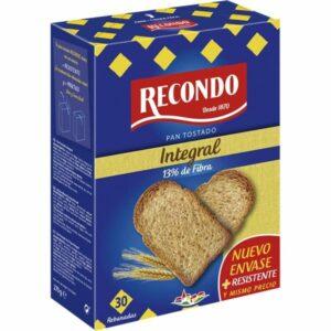 pan tostado integral