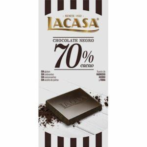 Chocolate 70% de lacasa