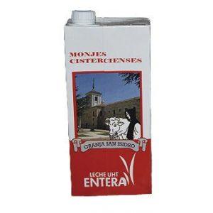 leche entera monjes cistercienses palencia