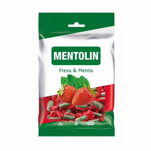 caramelo fresa y menta