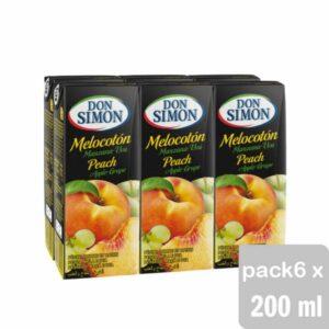 zumo melocoton