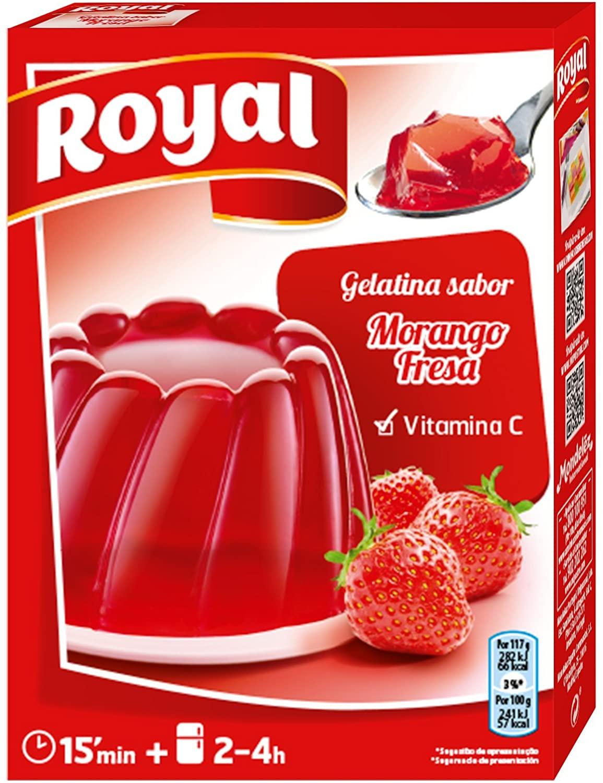 gelatina fresa
