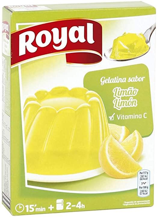 gelatina limon