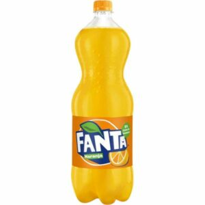 Botella Fanta de naranja 2 litros