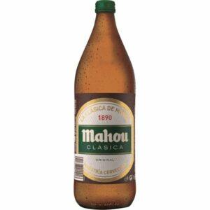 Cerveza clásica Mahou 1 litro