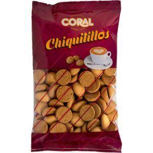 Mini galletas chiquitillos Coral 250gr