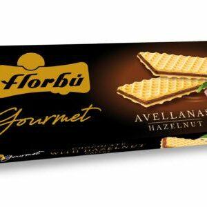 forbu relleno chocolate con avellanas